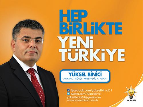Yuksel Binici, AKP Milletvekili.